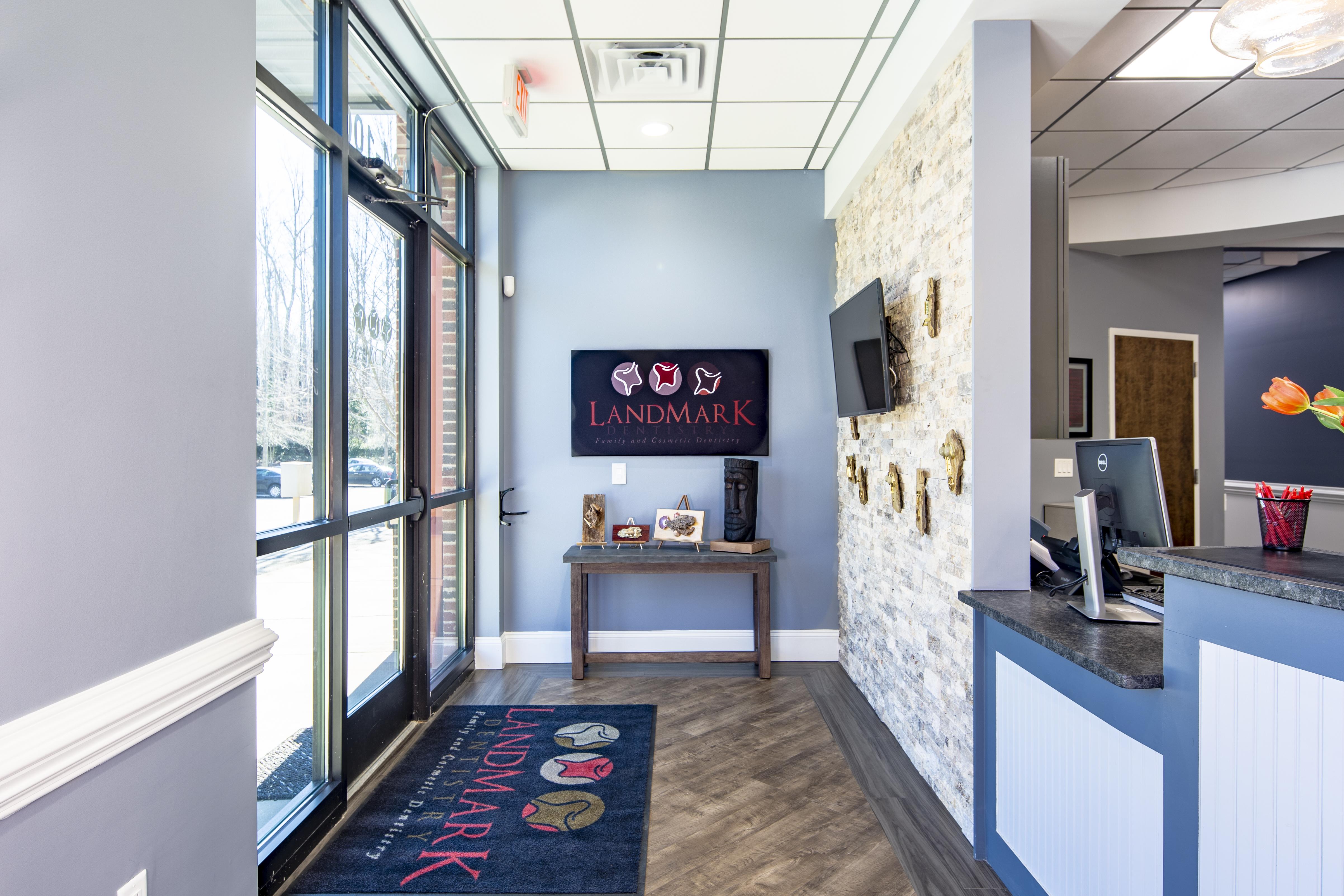 Entrance - LandMark Dentistry Matthews location