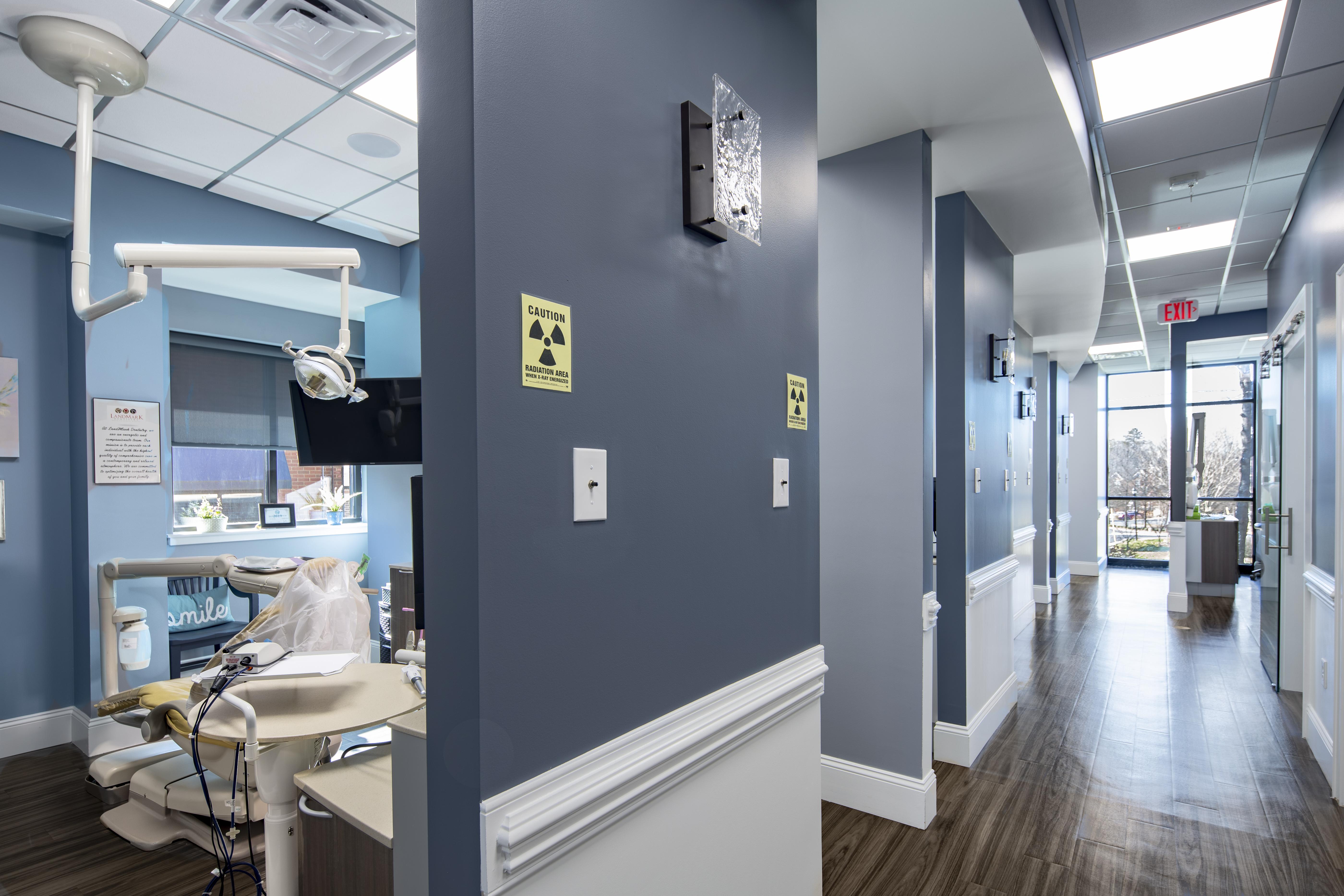 Patient care area - LandMark Dentistry Matthews location