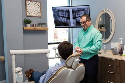 dental implant restoration landmark dentistry
