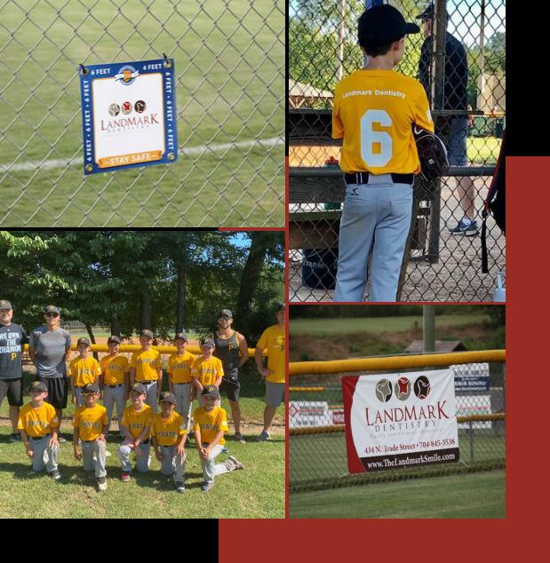LandMark Dentistry sponsors Matthews Athletic & Recreation Association