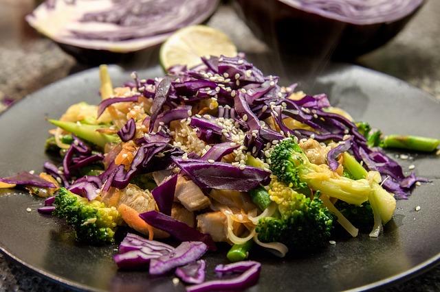 Crunchy vegetables improve saliva production.